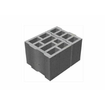 FBB-30 jelû falazó betonblokk ⅓-⅔ arányban osztható elem