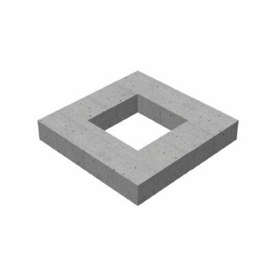 30/30/10/15 négyzet alakú víznyelő akna magasító elem