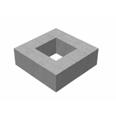 30/30/20/15 négyzet alakú víznyelő akna magasító elem