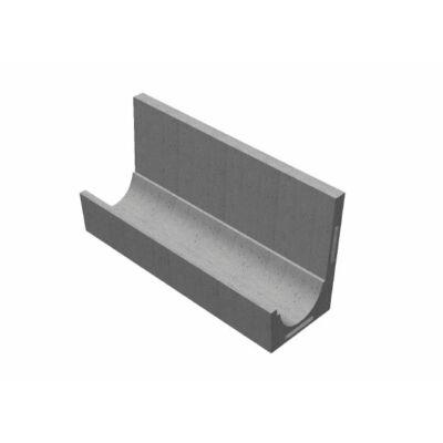 Íves szelvényű CSOMIÉP-MÓCSÁN támfalas árokburkoló elem (200 cm)