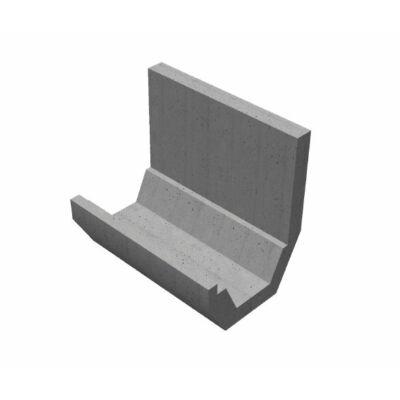 Trapéz szelvényű CSOMIÉP-MÓCSÁN támfalas árokburkoló elem (100 cm)