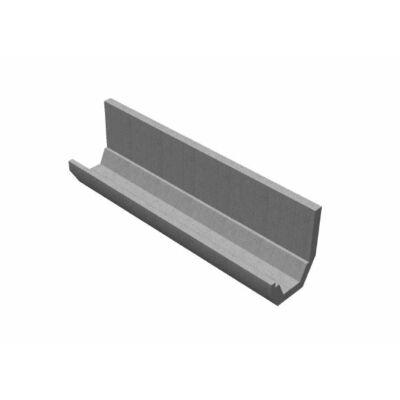 Trapéz szelvényű CSOMIÉP-MÓCSÁN támfalas árokburkoló elem (300 cm)