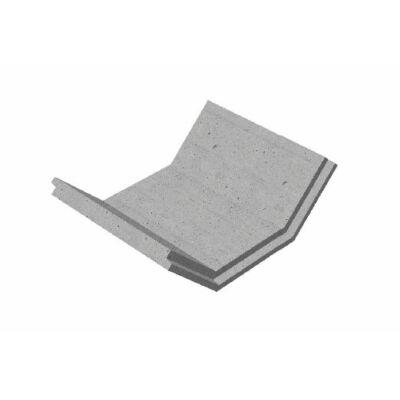 II/60/50 Mederburkoló elem (1:1 rézsű)