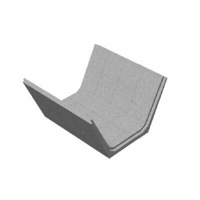 Tisza 1 (100/205/105) Mederburkoló elem (2:1 rézsű)