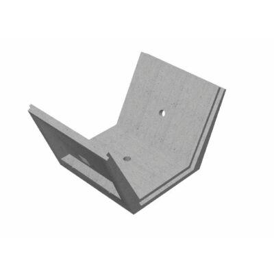III/100/120 Mederburkoló elem (2:1 rézsű) terfil szűrővel