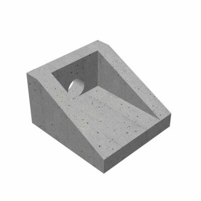 Drén kitorkolófej, 30 cm fenékszélesség