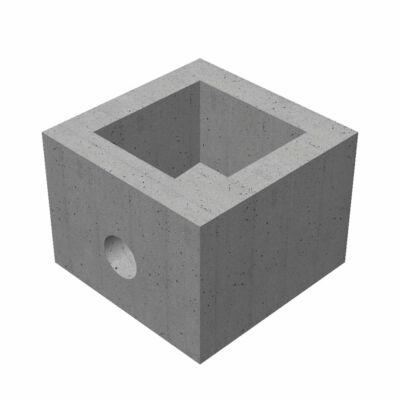 50/50/55/12 négyzet alakú víznyelő akna fenék elem