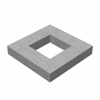 50/50/10/12 négyzet alakú bűzelzárós víznyelő akna magasító gyűrű