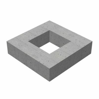 50/50/20/12 négyzet alakú víznyelő akna magasító elem