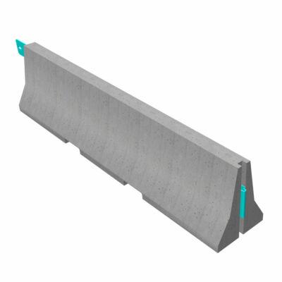 81/350 Típusú szalagkorlát megfogására alkalmas elem